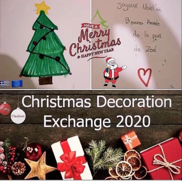 "Συμμετοχή του Europe Direct of Crete στο project: ""Christmas Tree Decoration Exchange 2020"""